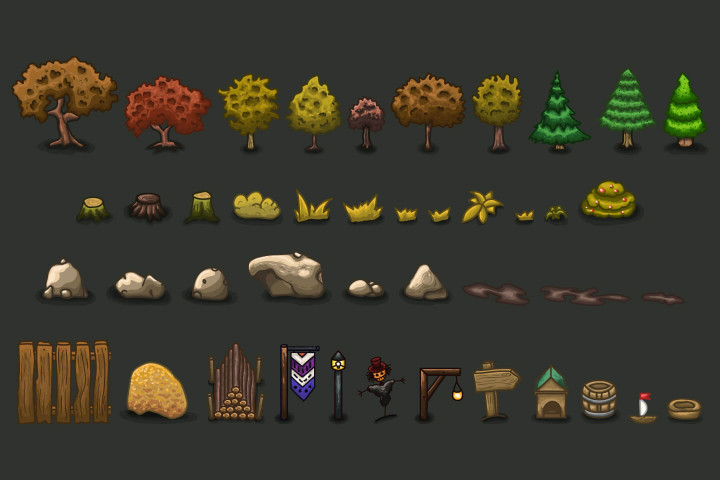 2D-RPG-Autumn-Tileset