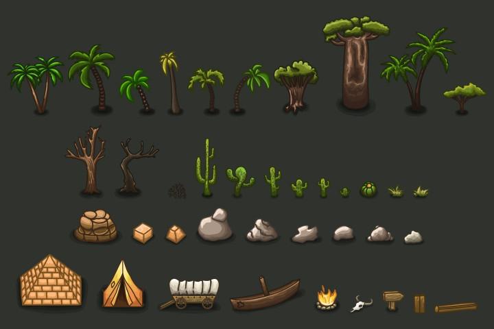 Free-2D-RPG-Desert-Tileset