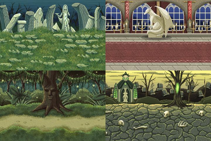 Free-Pixel-Art-Fantasy-2D-Battlegrounds