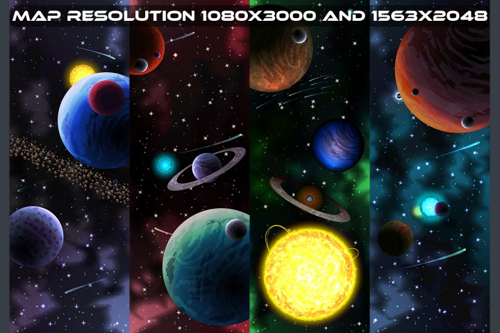 Space-Shooter-Game-Level-Map-Pack