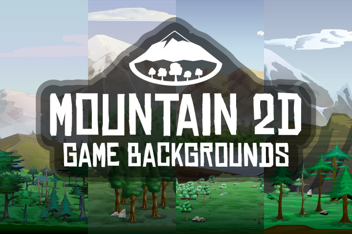Mountain-2D-Game-Backgrounds