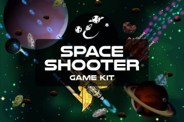 Space Shooter Game Kit