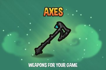 Axes 2D Weapon Pack