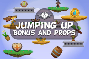 Free Jumping UP Game Objects