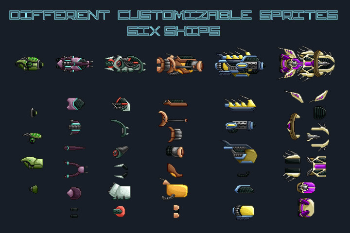 Free-Pixel-Art-Enemy-Spaceship-2D-Sprites