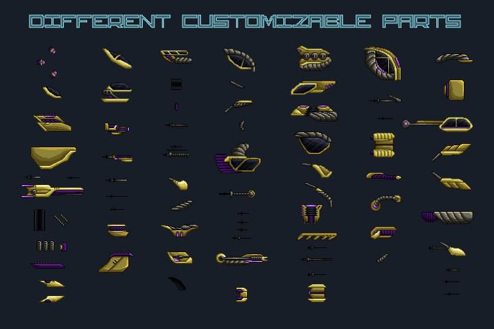 Pixel-Art-Boss-Spaceship-2D-Game-Sprites