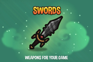 Swords 2D Weapon Pack