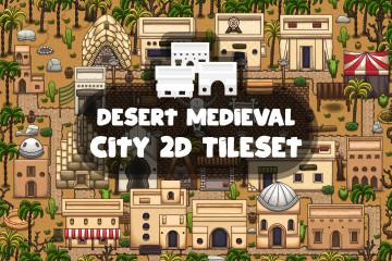 Desert Medieval City 2D Tileset