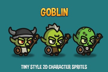 Goblin Tiny Style 2D Character Sprites