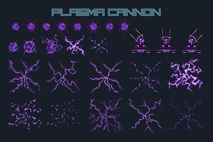Pixel-Art-Space-Trap-Game-Asset-Pack