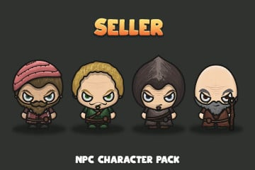 Seller NPC Character Pack