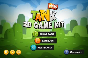 Tank Wars 2D Game Kit