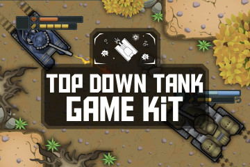 Top Down Tank Game Kit