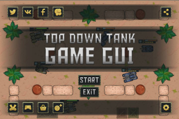 Top Down Tank Game User Interface