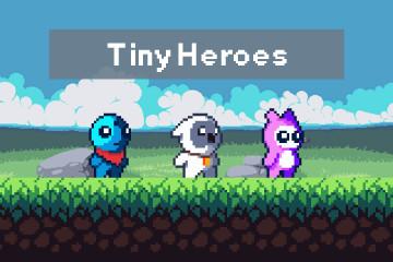 Free Pixel Art Tiny Hero Sprites