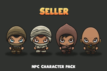 Seller NPC Character Pack 3