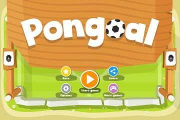 Pong Football 2D Game Kit
