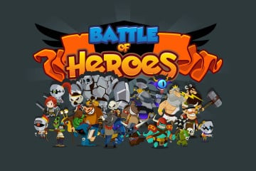 Battle of Heroes 2D Game Kit