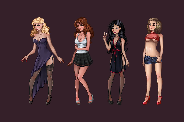 Pin Up Girls Game