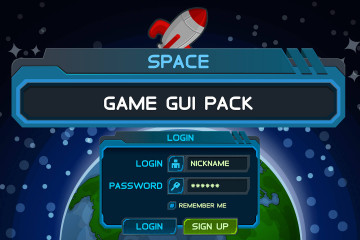 Space Game User Interface