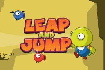 Leap And Jump 2D Game Kit