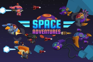 Space Adventures 2D Game Kit