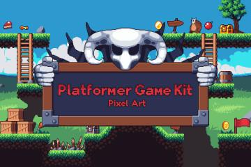 Platformer Game Kit Pixel Art