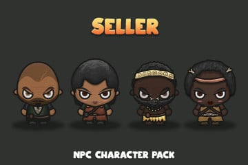 Seller NPC Character Pack 5