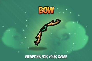 Bow 2D Weapon Pack