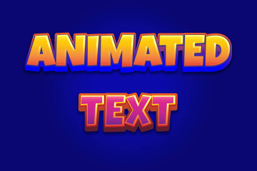Animated Text Game Assets Pack