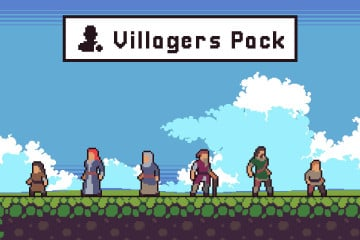 Free Villagers Sprite Sheets Pixel Art