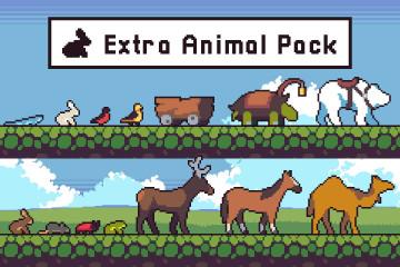 Animal Sprite Sheets Pixel Art Pack