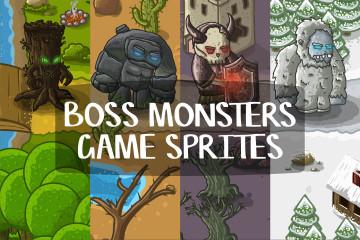 Boss Monster Game Sprites
