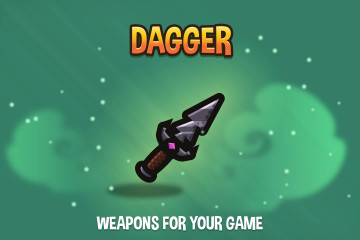 Dagger 2D Weapon Pack