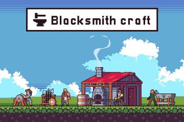 Blacksmith Craft Asset Pixel Art Pack