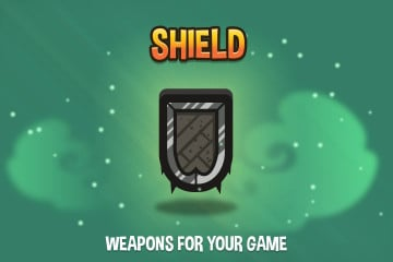 Free Shield 2D Game Assets Pack