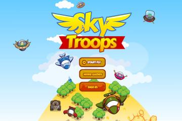 Plane Shooter 2D Game Kit