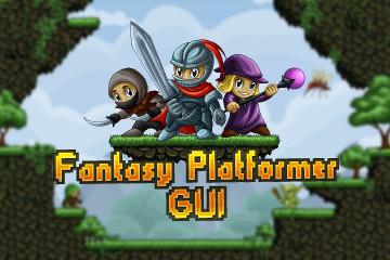 Fantasy Platformer Game UI