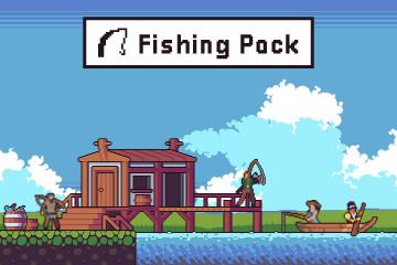 Free Fishing Game Assets Pixel Art Pack