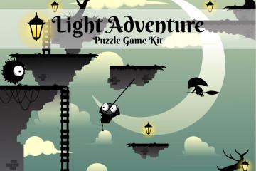 Light Adventure Platformer Game Kit