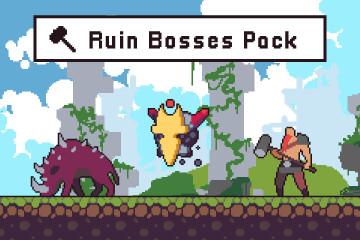 Ruin Bosses Pixel Art Character Pack