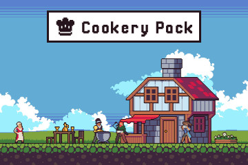 Cookery Game Assets Pixel Art Pack