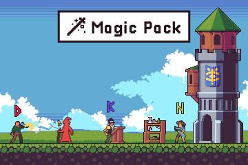 Magic Assets Pack Pixel Art