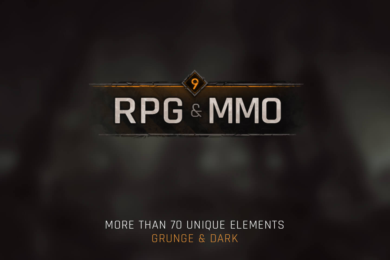 RPG & MMO Game UI - CraftPix.net