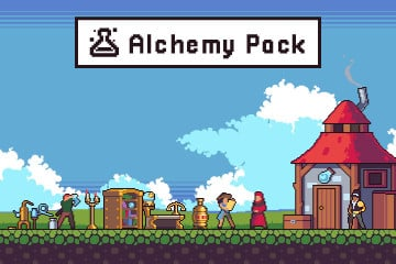 Alchemy Game Assets Pixel Art Pack