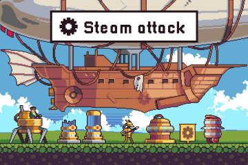 Steampunk Game Assets Pack Pixel Art