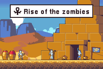 Rise of the Zombies Mummy Assets Pack