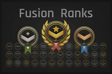Fusion Ranks Game Assets Pack