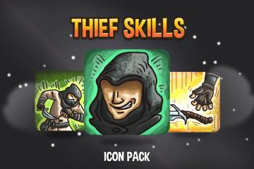 Thief Skills Icon Pack