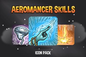 Aeromancer Skills Icon Pack